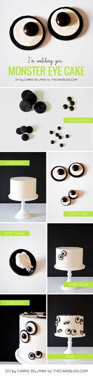 DIY: Monster Eye Cak
