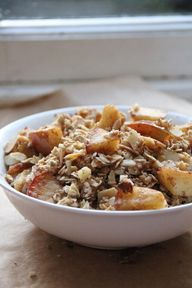 Apple Crumble Oatmea
