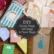 DIY Gift Bags and Go
