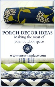 Porch Decor Ideas -