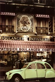 Parisian Patisserie and my brothers old car!!