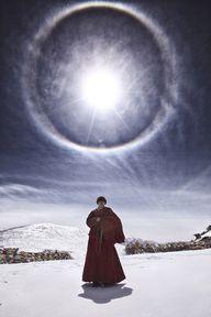 Tibetan Buddhist mon