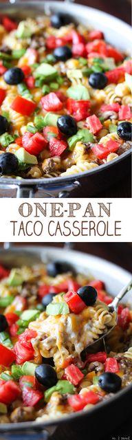 One-Pan Taco Cassero