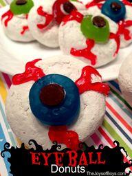Eyeball Donuts : Eas