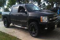 Black chevy truck wi