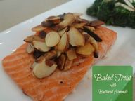 Baked Trout with But