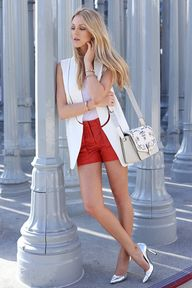 White On Red