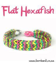 Flat Hexafish loom b