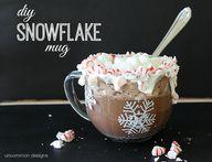 DIY Snowflake Mug vi