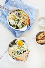 Baked Egg with Ricot