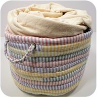 Ticking basket - I w...