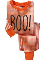 Toddler BOO pjs from