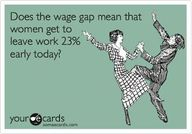 Women are paid up to