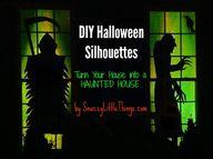 DIY Halloween Silhou