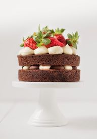 mini layer cake with