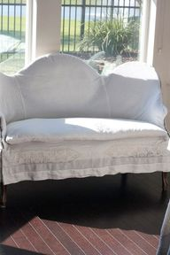Slipcover using vint