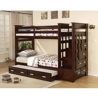 Allentown Twin over Twin Bunk Bed, Espresso