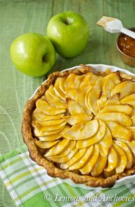 Apple Banana Tart