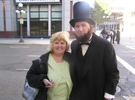 Lincoln Impersonator