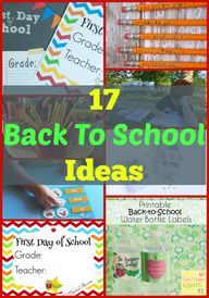 17 Back To School Id