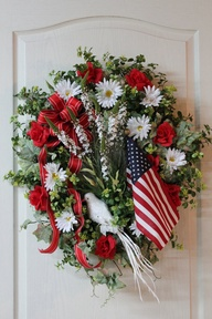 Fresh wreath for Fou