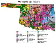 A soil map of Oklaho