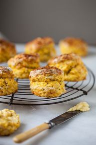 Easy butternut scone