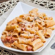 Rigatoni in Blush Sa
