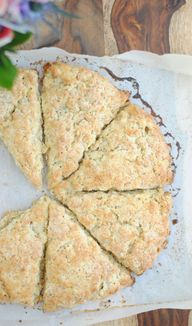 Toasted Oat Scones |