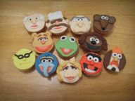 Cup cake muppets...