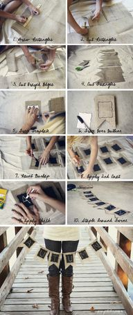 How to make burlap/c