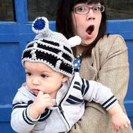 Dalek Baby Hat Dr who. omgomg @Andrew McCallum