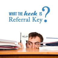 Wierd referrals from