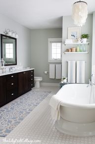 Coastal Bath Decor--