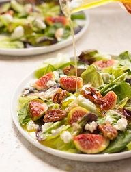 Fig, Goat Cheese, an