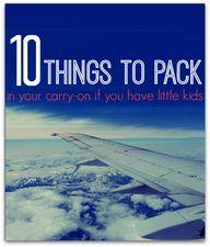 Be prepared travelin...