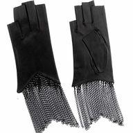 Fingerless Leather G