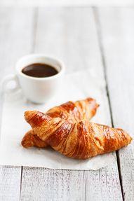 Croissants café