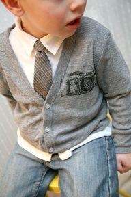 Cute boy style!