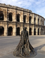 Bullfighter, Nîmes