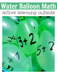 Water balloon math g