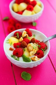 Vanilla Yogurt With