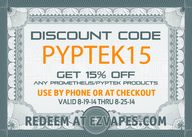 Take 15% off any #Pr
