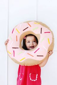DIY Doughnut Pillow