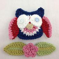 crochet owl by Rubya