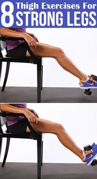 8 Thigh Exercises Fo...