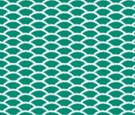 Emerald scallop fabr