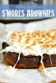 Slow Cooker Smores