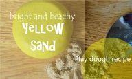 Yellow sand play dou...