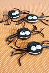 Spider Oreos